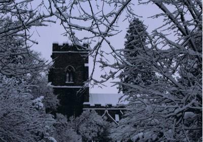 Snowy St Margaret's (J)