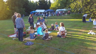 The Chocolate Game.  Village Fete August 2017