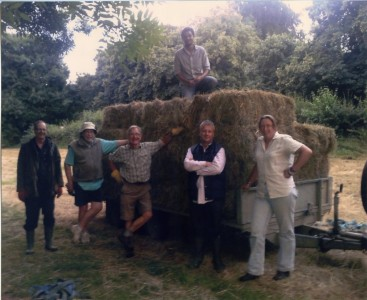 The Glebe Meadow Hay Team